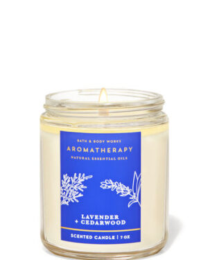 LAVENDER CEDARWOOD SCENTED CANDLE