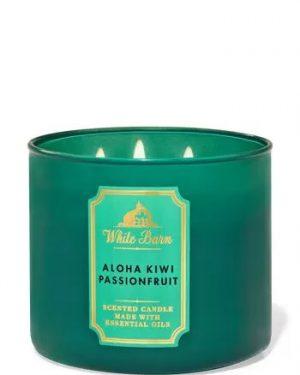 aloha kiwi passionfruit scented candle