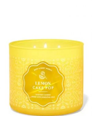 LEMON CAKE POP SCENTED CANDLE