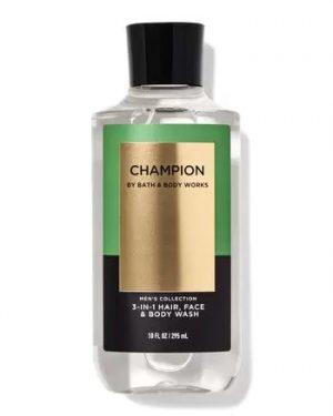 CHAMPION BODY WASH