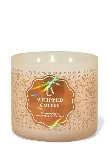Whipped Coffee scented candle